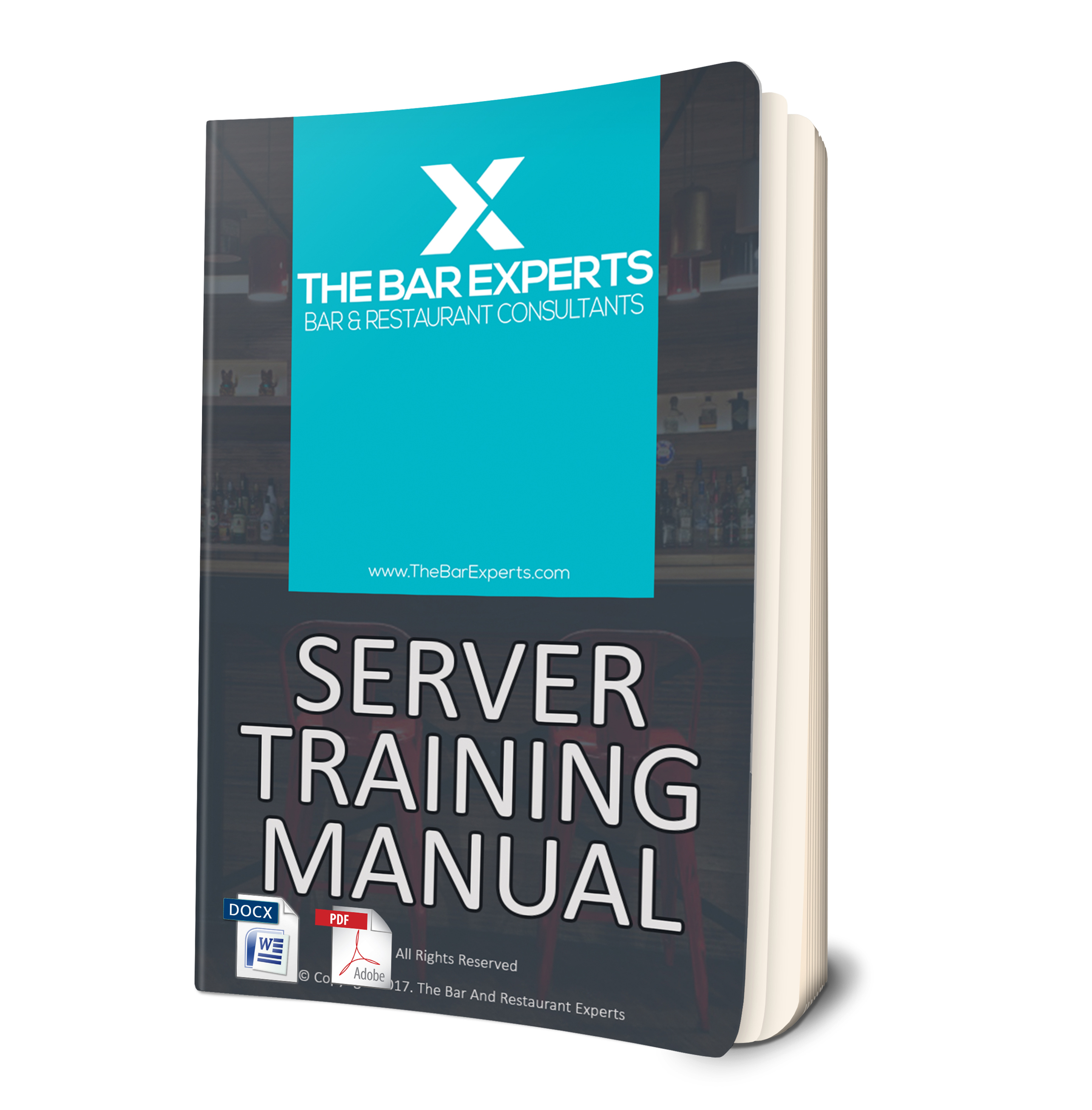 Editable Server Training Manual